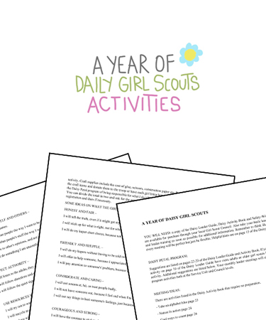 photograph regarding Girl Scout Daisy Song Printable titled A Yr of Each day Lady Scouts Pursuits - (Absolutely free PRINTABLE