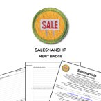 salesmanship merit badge worksheet requirements. Black Bedroom Furniture Sets. Home Design Ideas