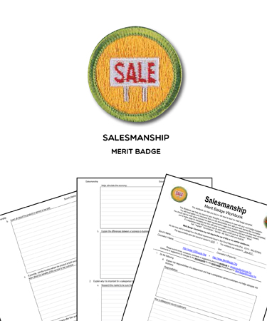 Salesmanship Merit Badge