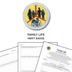 family life merit badge worksheet requirements. Black Bedroom Furniture Sets. Home Design Ideas