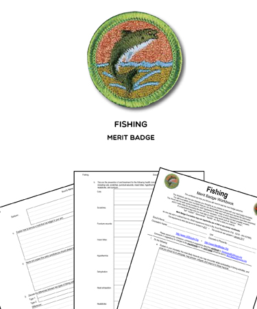 fishing merit badge worksheet requirements. Black Bedroom Furniture Sets. Home Design Ideas
