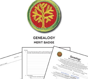 Genealogy Merit Badge