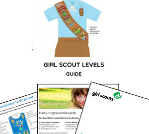 girl scout flag levels guide