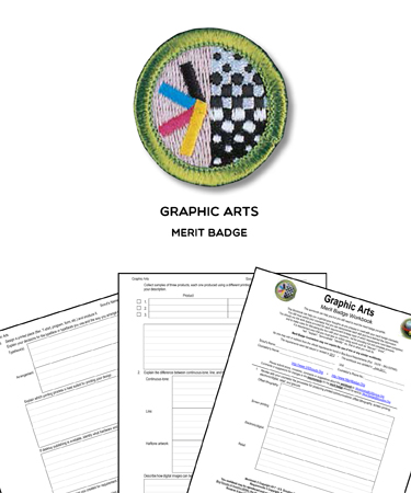 Graphic Arts Merit Badge
