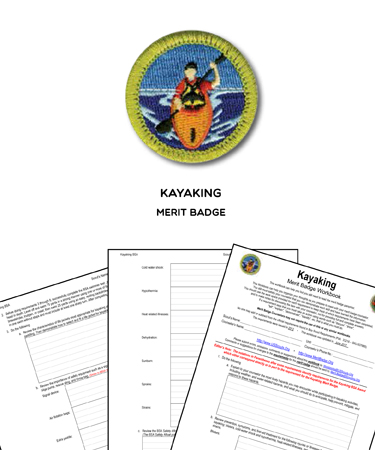 kayaking merit badge worksheet requirements. Black Bedroom Furniture Sets. Home Design Ideas