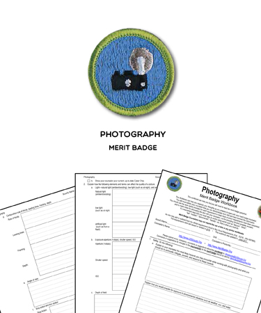merit badge worksheet requirements