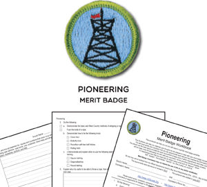 Pioneering Merit Badge
