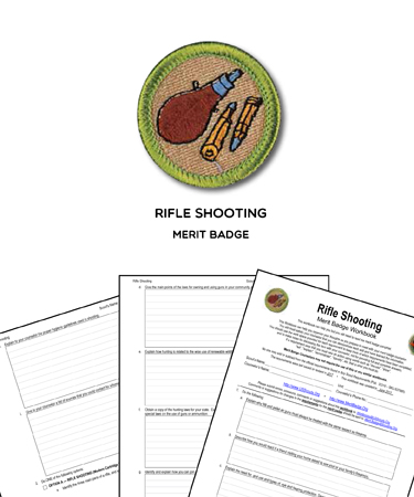 Rifle Shooting Merit Badge
