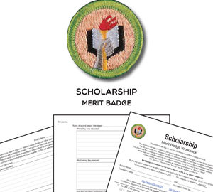Scholarship Merit Badge