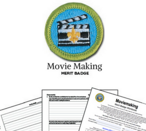 Movie Making Merit Badge