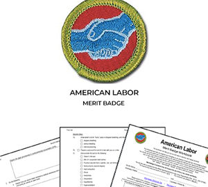 American Labor Merit Badge
