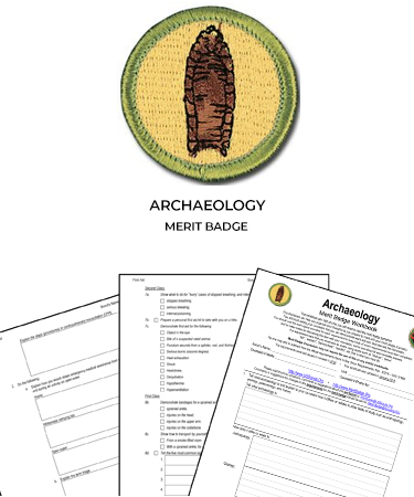 Archaeology Merit Badge