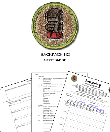 Backpacking Merit Badge