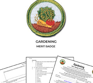 Gardening Merit Badge