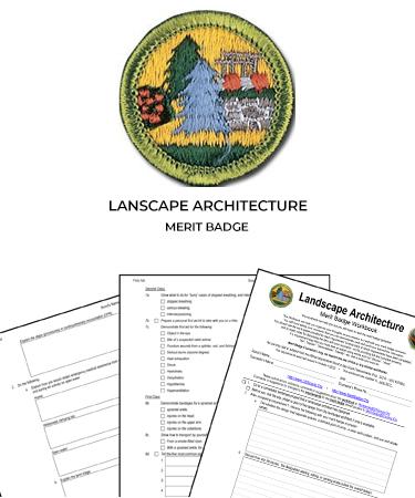 Landscape Architecture Merit Badge