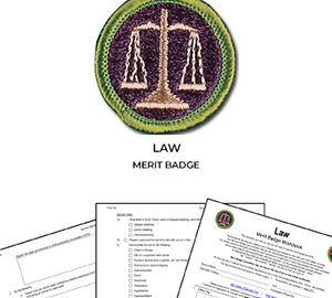 Law Merit Badge
