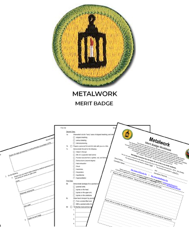 Metalwork Merit Badge