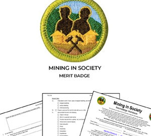 Mining in Society Merit Badge