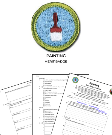 Painting Merit Badge