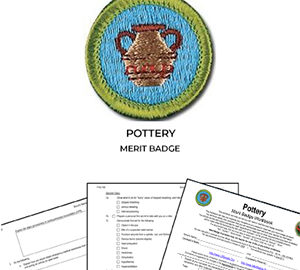 Pottery Merit Badge