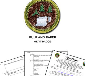 Pulp and Paper Merit Badge