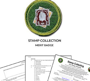 Stamp Collection Merit Badge