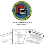 Truck Transportation Merit Badge