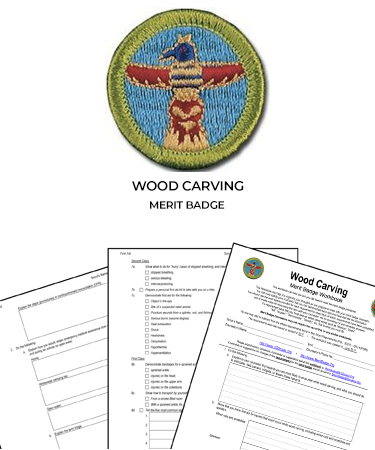 Wood Carving Merit Badge