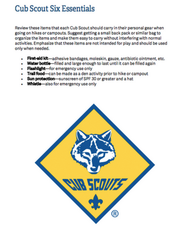photo relating to Cub Scout Printable identified as Cub Scout 6 Principles - A In depth Evaluation (PRINTABLE PDF)