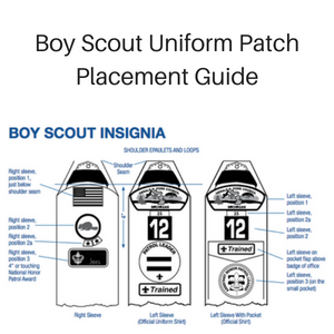 Public uniform patches boy scout troop 701 (fond du lac, wisconsin).