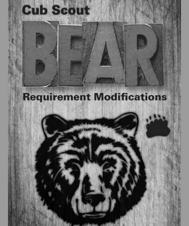 Cub Scout Bear Requirements