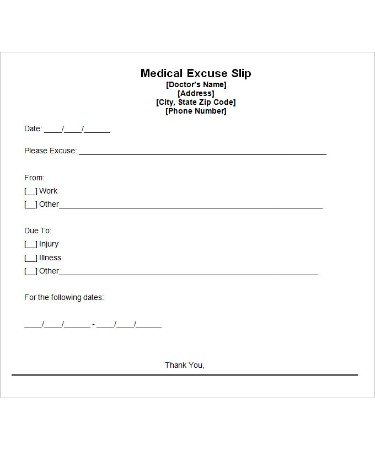 Doctor excuse template pdf free download printable doctor excuse template pdf maxwellsz