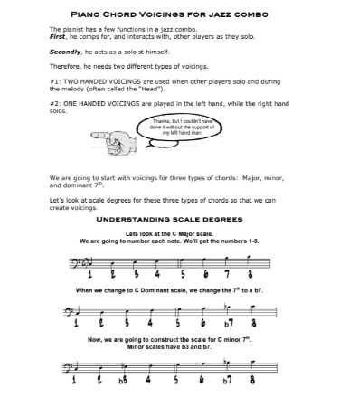 Jazz Piano Chords Chart Pdf Free Download Printable