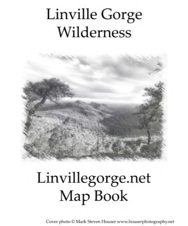 Linville Gorge Trail Map PDF - Free Download (PRINTABLE)