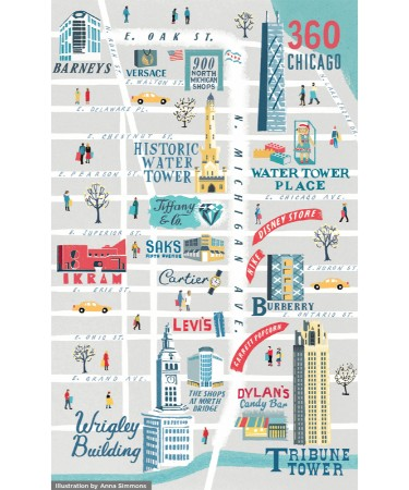 Magnificent Mile Map Pdf Free Download Printable