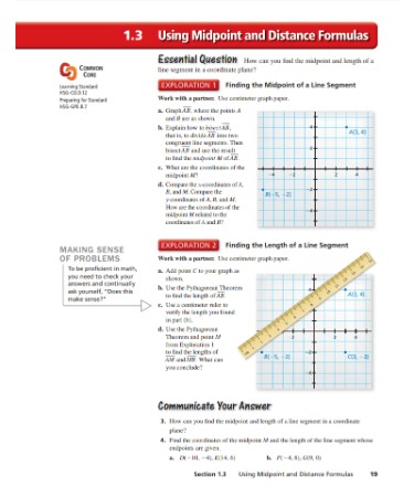 Midpoint And Distance Formula Worksheet PDF   PRINTABLE