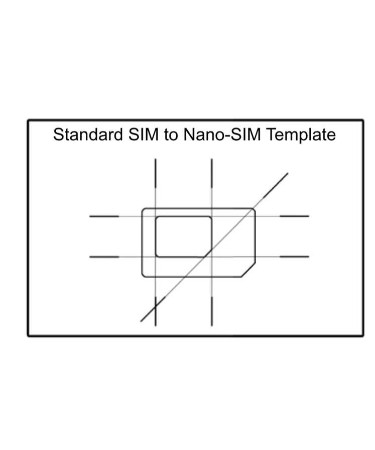 Nano Sim Template PDF - Free Download (PRINTABLE)