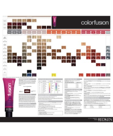 Redken Color Fusion Chart Pdf Free Download Printable