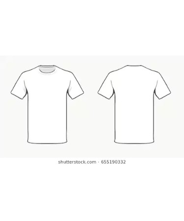 T Shirt Template Pdf Free Download Printable