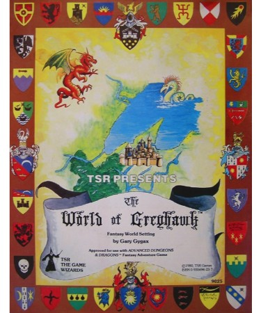 World Of Greyhawk Map PDF